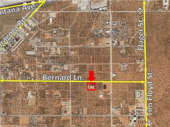 null bed null bath Vacant Land at 0 Bernard Ln El Paso, TX, 79925 is for sale at 60k - 1 of 3