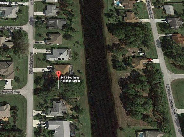 null bed null bath Vacant Land at 2473 SE HALLAHAN ST PORT ST LUCIE, FL, 34952 is for sale at 35k - google static map