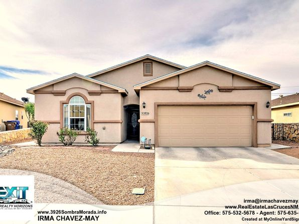 4 bed 3 bath Single Family at 3926 Sombra Morada Rd Las Cruces, NM, 88012 is for sale at 199k - 1 of 35