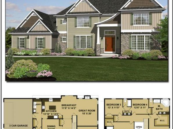4 bed 3 bath Single Family at  Lot 38 Weston Model Lititz, PA, 17543 is for sale at 501k - google static map