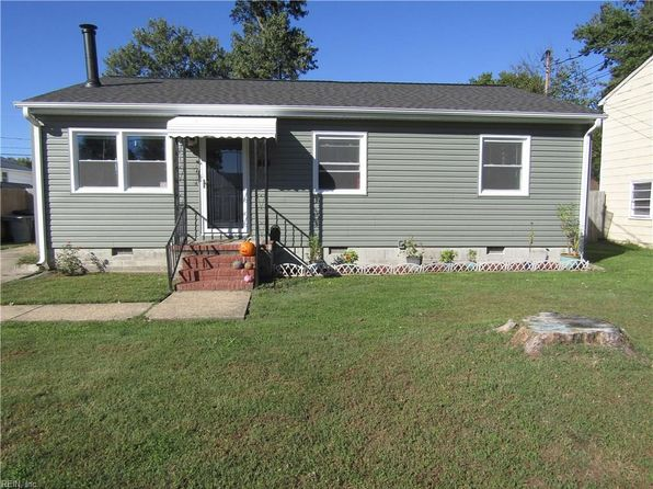 3 bed 2 bath Single Family at 818 Thames Dr Hampton, VA, 23666 is for sale at 165k - 1 of 23