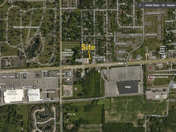 2 bed null bath Vacant Land at 11128 E Washington St Indianapolis, IN, 46229 is for sale at 135k - google static map