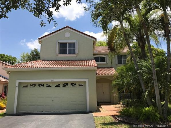 4 bed 3 bath Single Family at 652 Sand Creek Cir Weston, FL, 33327 is for sale at 470k - 1 of 34