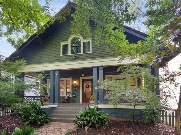 Midtown Atlanta Single Family Homes For Sale 8 Homes Zillow
