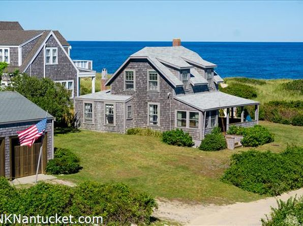 Town of Nantucket MA Waterfront Homes For Sale - 50 Homes ...