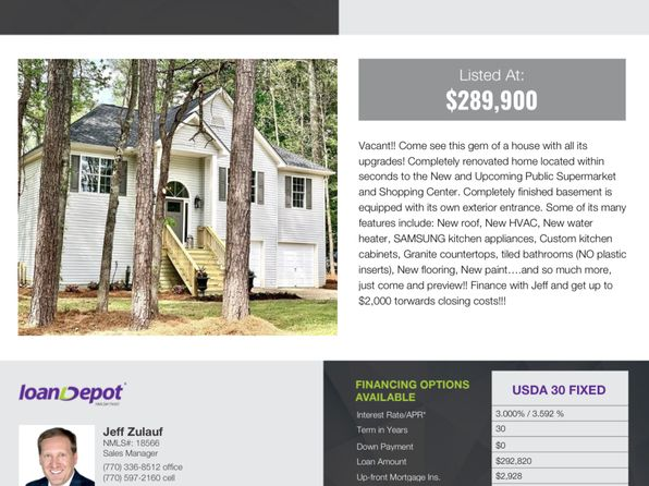 Usda Financing Cumming Real Estate 4 Homes For Sale Zillow