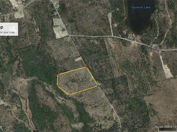 Danforth Maine Map.8 Haney Rd Danforth Me 04424 Zillow