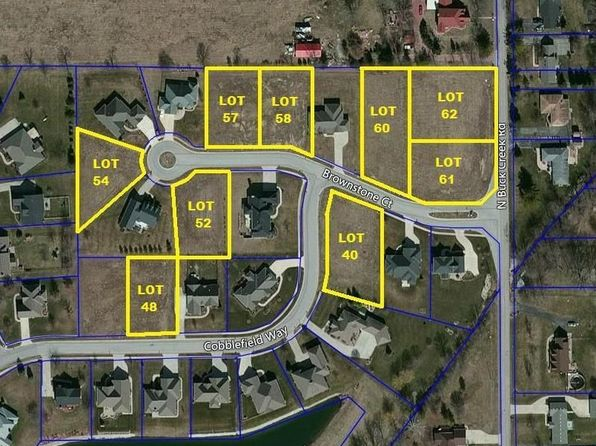 null bed null bath Vacant Land at 1218 N Buck Creek Rd Greenfield, IN, 46140 is for sale at 39k - google static map