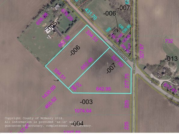 null bed null bath Vacant Land at 11111 Vanderkarr Rd Hebron, IL, 60034 is for sale at 85k - 1 of 2