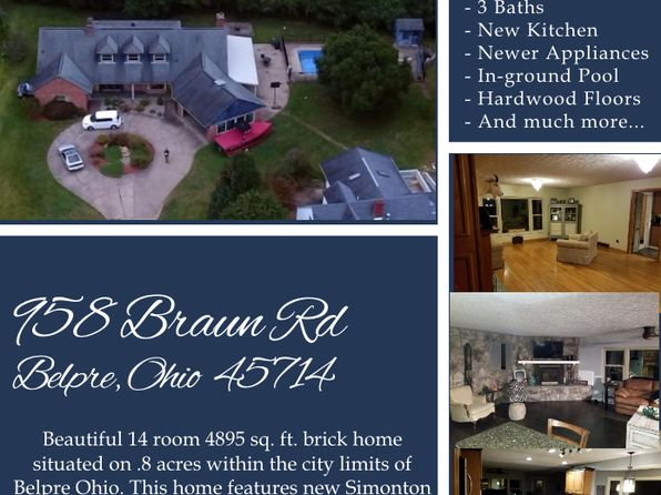 6 bed 3 bath Single Family at 958 Braun Ave Belpre, OH, 45714 is for sale at 265k - 1 of 12