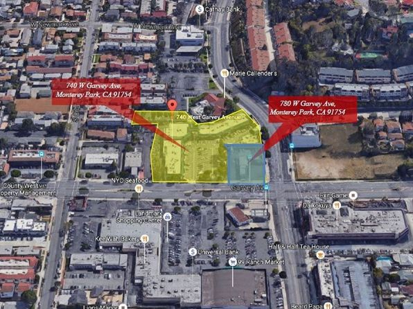 null bed null bath Vacant Land at 780 W Garvey Ave Monterey Park, CA, 91754 is for sale at 25.00m - 1 of 13