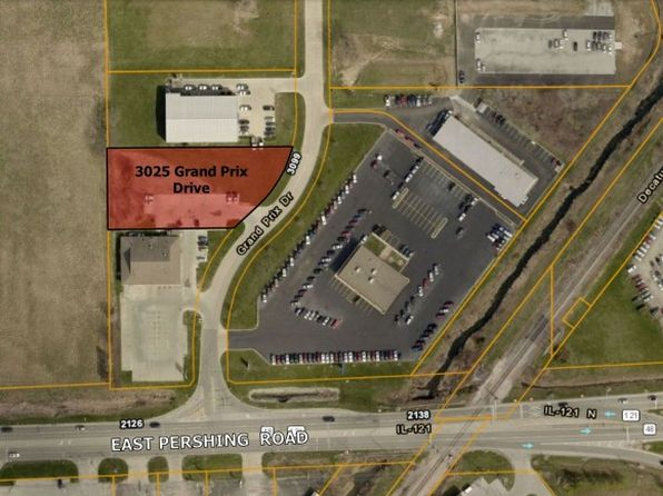 null bed null bath Vacant Land at 3025 Grand Prix Dr Decatur, IL, 62526 is for sale at 50k - google static map