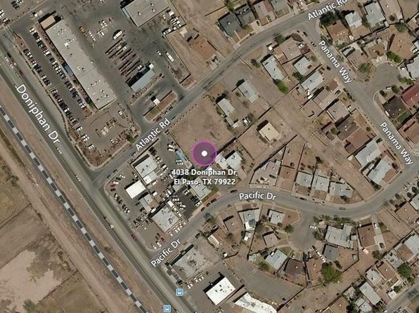 null bed null bath Vacant Land at 4038 DONIPHAN DR EL PASO, TX, 79922 is for sale at 25k - 1 of 2