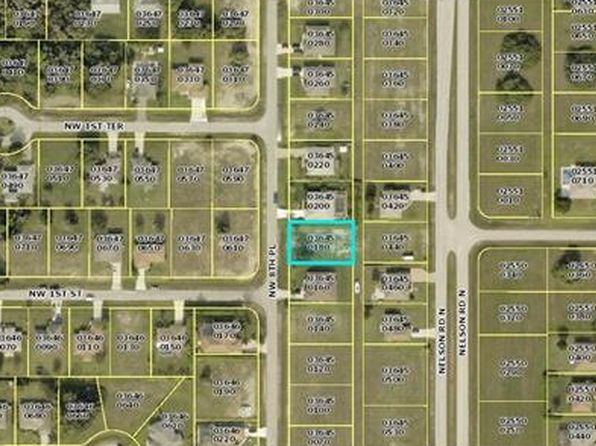 null bed null bath Vacant Land at 105 NW 8TH PL CAPE CORAL, FL, 33993 is for sale at 12k - google static map
