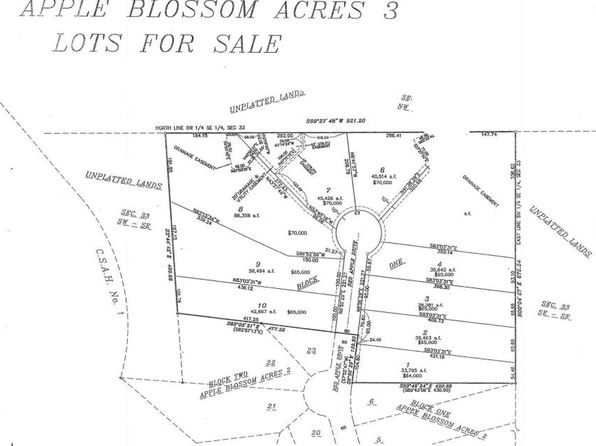 null bed null bath Vacant Land at 543 Red Apple Dr La Crescent, MN, 55947 is for sale at 65k - 1 of 2