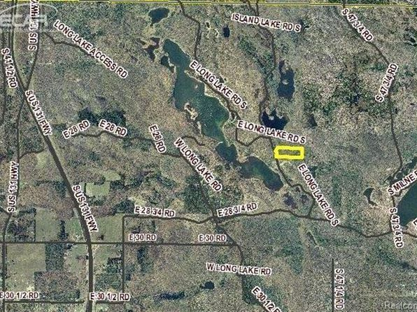 null bed null bath Vacant Land at 1101 Long Lk Cadillac, MI, 49601 is for sale at 35k - 1 of 3