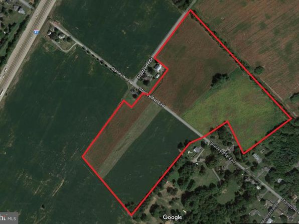null bed null bath Vacant Land at  Stanley Ave Chambersburg, PA, 17201 is for sale at 750k - google static map
