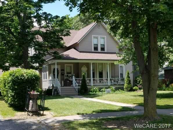 4 bed 2 bath Single Family at 515 N Jefferson St Van Wert, OH, 45891 is for sale at 117k - 1 of 34
