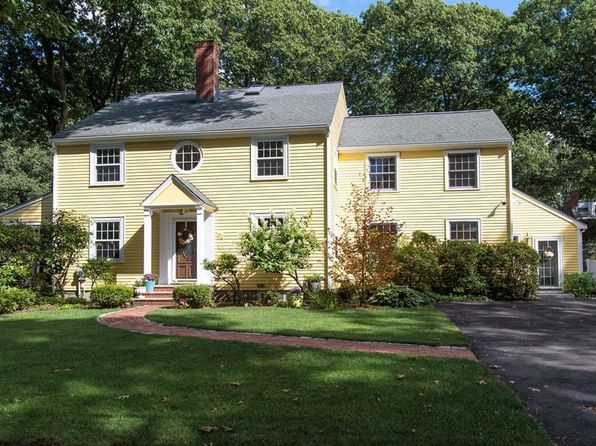 5 bed 4 bath Single Family at 22 Park Ave Wellesley, MA, 02481 is for sale at 1.60m - 1 of 23