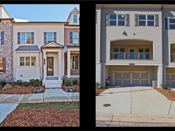 4 bed 4 bath Townhouse at 1954 Forte Ln Alpharetta, GA, 30009 is for sale at 398k - google static map