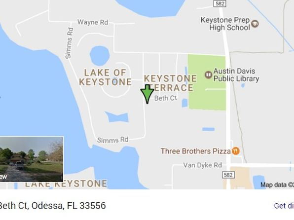 5 bed 3 bath Single Family at 8618 Beth Ct Odessa, FL, 33556 is for sale at 450k - google static map