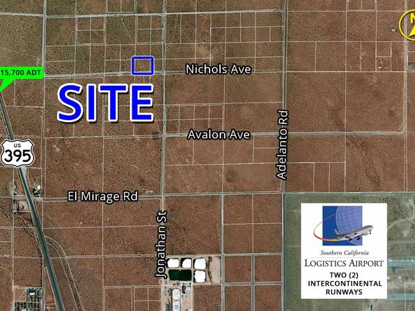 null bed null bath Vacant Land at  Nichols Rd Adelanto, CA, 92301 is for sale at 90k - 1 of 2