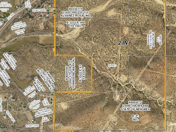 null bed null bath Vacant Land at  Xxx US Aztec, NM, 87410 is for sale at 275k - google static map