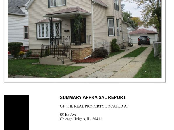 3 bed 2 bath Single Family at 85 Isa Ave Chicago Heights, IL, 60411 is for sale at 65k - google static map