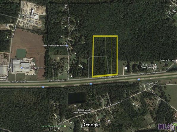 null bed null bath Vacant Land at 28415 James Chapel Rd Holden, LA, 70744 is for sale at 650k - 1 of 6