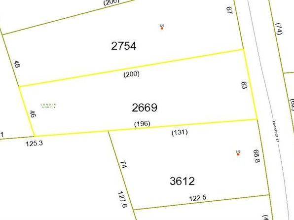 null bed null bath Vacant Land at 00 Prospect St Lenoir, NC, 28645 is for sale at 5k - google static map
