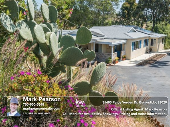 3 bed 2.5 bath Single Family at 31465 Palos Verdes Dr Escondido, CA, 92026 is for sale at 535k - 1 of 25