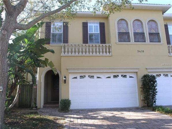 3 bed 3 bath Townhouse at 3410 W Barcelona St Tampa, FL, 33629 is for sale at 519k - 1 of 25