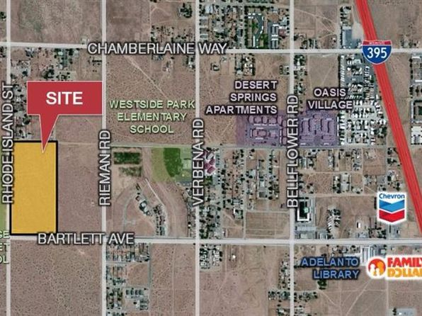 null bed null bath Vacant Land at  Bartlett Ave Adelanto, CA, 92301 is for sale at 299k - 1 of 6