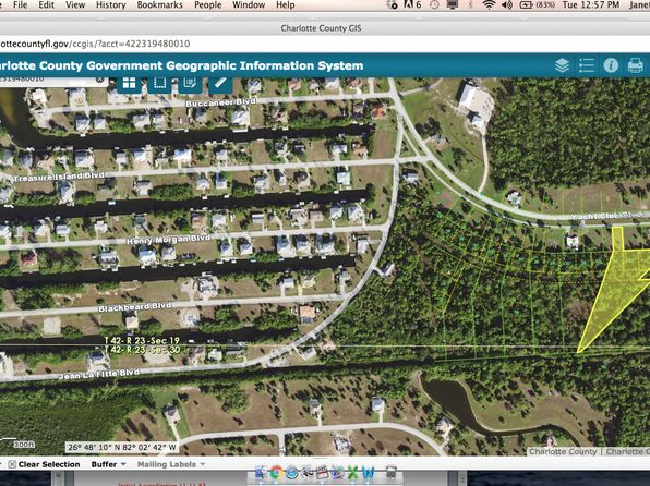 null bed null bath Vacant Land at 24573 YACHT CLUB BLVD PUNTA GORDA, FL, 33955 is for sale at 198k - 1 of 4