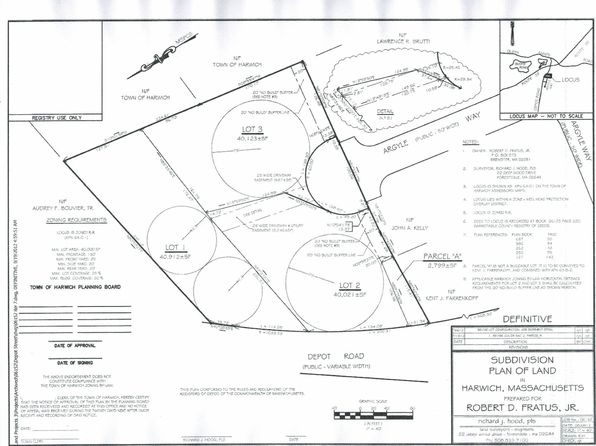 null bed null bath Vacant Land at 23 Argyle Way Harwich, MA, 02645 is for sale at 190k - 1 of 3