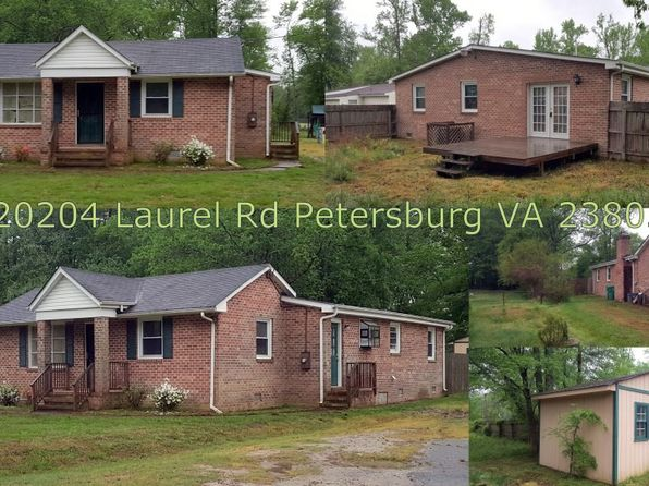 3 bed 2 bath Single Family at 20204 Laurel Rd South Chesterfield, VA, 23803 is for sale at 100k - 1 of 9