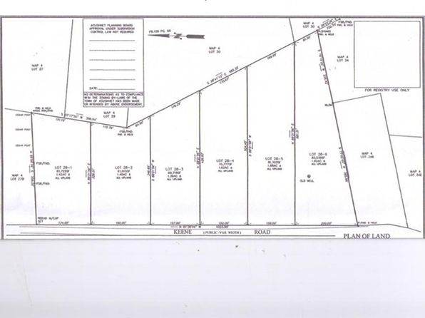 null bed null bath Vacant Land at 283 Keene Rd Acushnet, MA, 02743 is for sale at 150k - 1 of 4