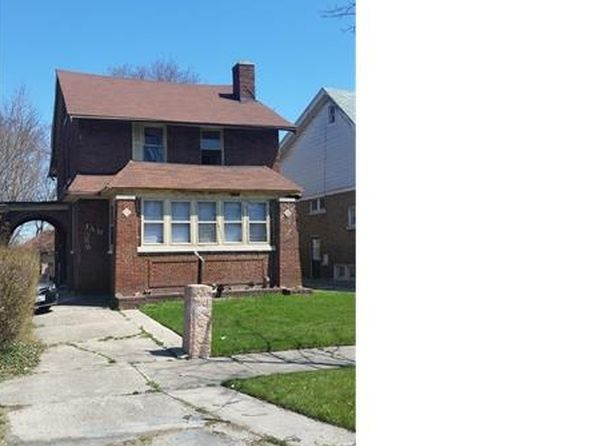 5 bed 3 bath Single Family at 388 Chalmers St Detroit, MI, 48215 is for sale at 45k - 1 of 2