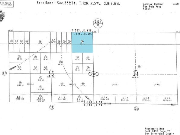 null bed null bath Vacant Land at 00 0 Vacant Land Barstow, CA, 92311 is for sale at 400k - google static map