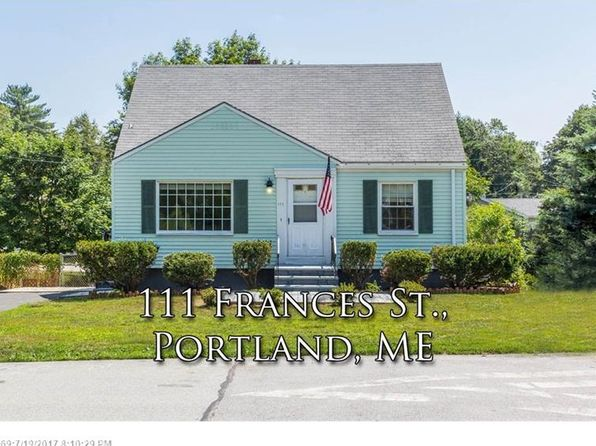 3 bed 1 bath Single Family at 111 Frances St Portland, ME, 04102 is for sale at 235k - 1 of 33