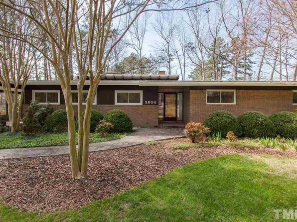 Mid Century Modern North Carolina Single Family Homes