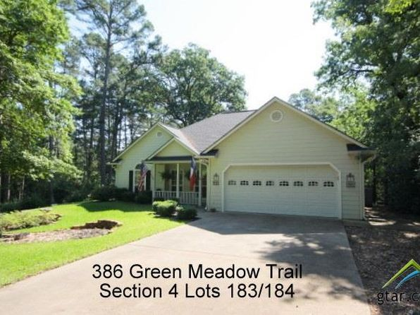 3 bed 2 bath Single Family at 386 Green Meadow Trl Holly Lake Ranch, TX, 75765 is for sale at 169k - 1 of 22