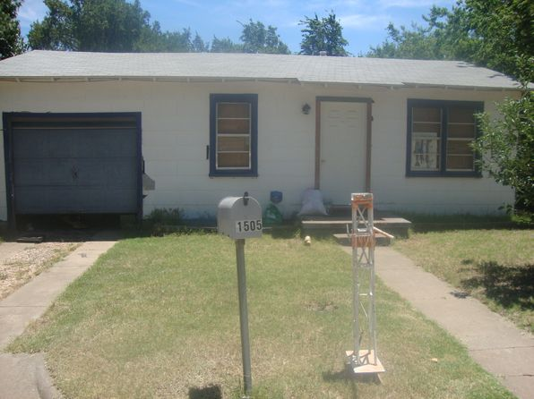 2 bed 1 bath Single Family at 1505 Bland St Wichita Falls, TX, 76302 is for sale at 18k - 1 of 23