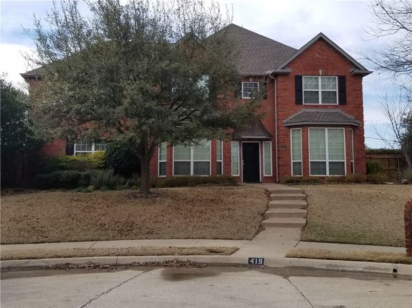 5 bed 3 bath Single Family at 419 Fountain Gate Dr Allen, TX, 75002 is for sale at 389k - google static map