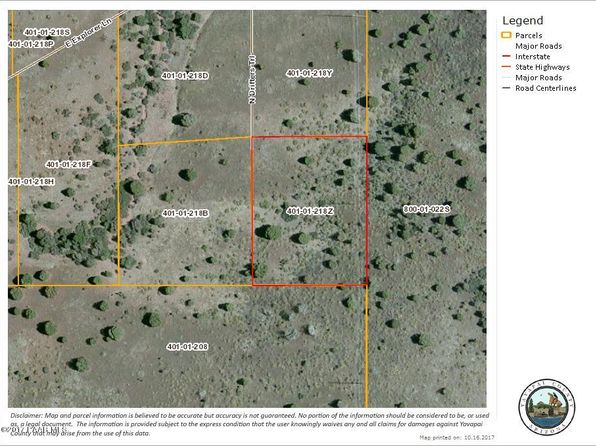 null bed null bath Vacant Land at D4 N Drifters Trl Prescott Valley, AZ, 86315 is for sale at 85k - google static map