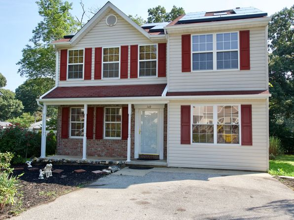 3 bed 3 bath Single Family at 143 Virginia Ave Pasadena, MD, 21122 is for sale at 330k - google static map