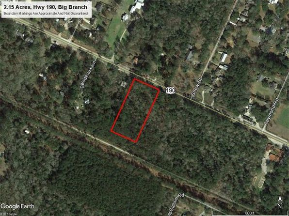 null bed null bath Vacant Land at 190 Highway Big Branch, LA, 70445 is for sale at 85k - google static map