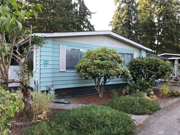 3 bed 2 bath Mobile / Manufactured at 12506 112th Ave E Puyallup, WA, 98374 is for sale at 40k - 1 of 22