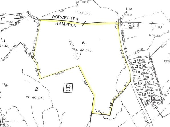 null bed null bath Vacant Land at 0 Brimfield Rd Warren, MA, 01083 is for sale at 220k - google static map