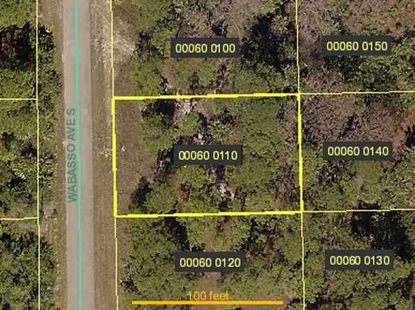 null bed null bath Vacant Land at 617 Wabasso Ave S Lehigh Acres, FL, 33974 is for sale at 4k - google static map